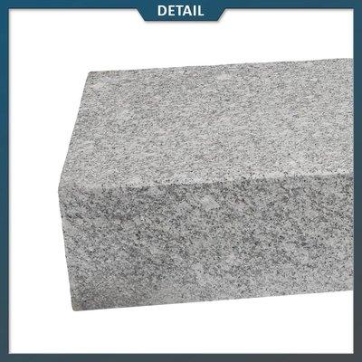 Traptrede Graniet Lichtgrijs G603 Gevlamd