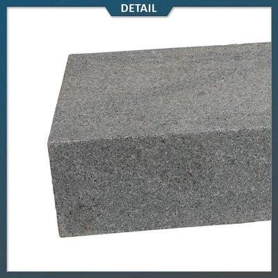 Traptrede Graniet Antraciet Gevlamd