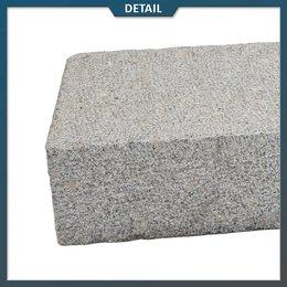 Traptrede Graniet Grijs Gebouchardeerd 100x35x15 cm