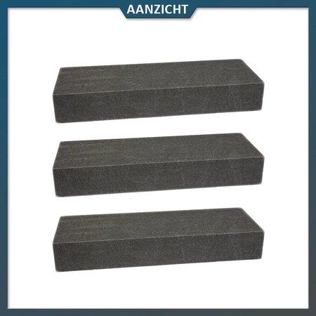 Traptrede Basalt Gebrand/geborsteld