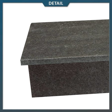 Stootbord en opstap Basalt G684