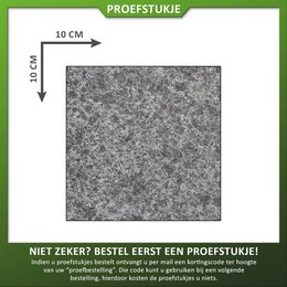 Proefstuk Basalt gevlamd/geborsteld