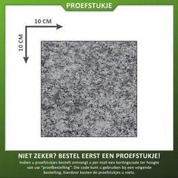 Proefstuk Graniet Lichtgrijs Gevlamd/geborsteld