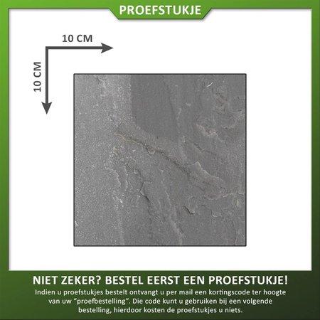 Proefstuk Zandsteen Autumn Grey