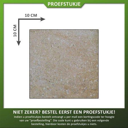 Proefstuk Zandsteen Mint