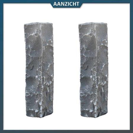 Palissade Vietnamees Basalt 12x12 cm