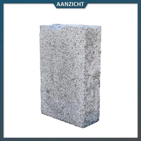 Palissade Graniet Grijs 10x25 cm