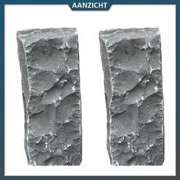 Palissade Vietnamees Basalt 12x22 cm