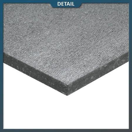 Basalt tegel G684 60x60x3 gefrijnd