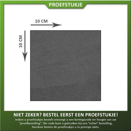 Proefstukje Keramiek mustang black (leisteen look)