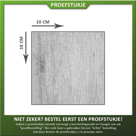 Proefstukje Keramiek houtlook greywash