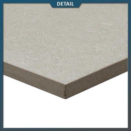 Keramische tegel Creme 75x75x2 cm