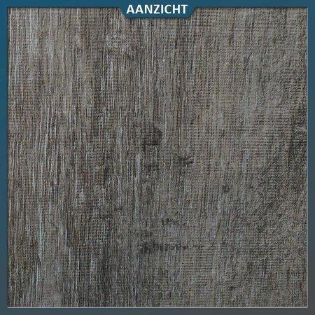 Keramische tegel houtlook Donker 120x30x2 cm