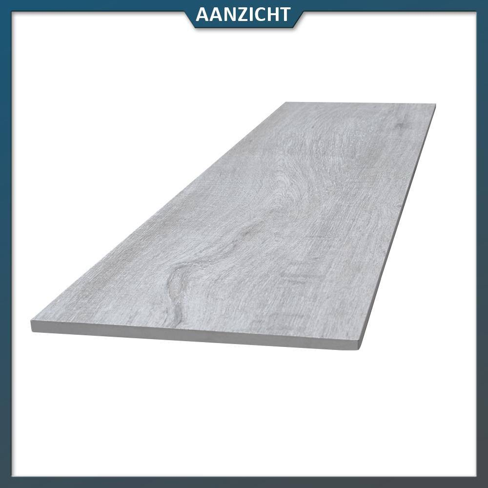 Keramische tegel houtlook greywash 120x30x2 cm - Tegel voor geloofwaardigheid ...