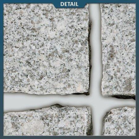 Graniet Lichtgrijs Kinderkoppen 10 x 10 x 8 centimeter