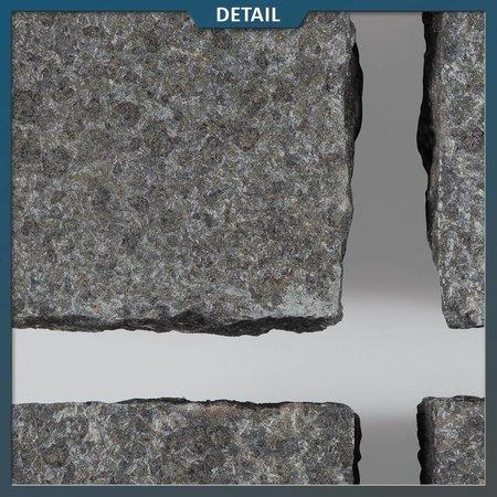 Basalt Kinderkoppen 10x10x8 centimeter