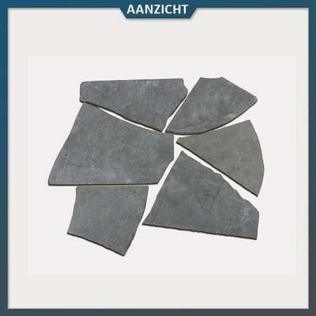 Chinees Hardsteen Flagstones (2,5 - 3 cm dik)