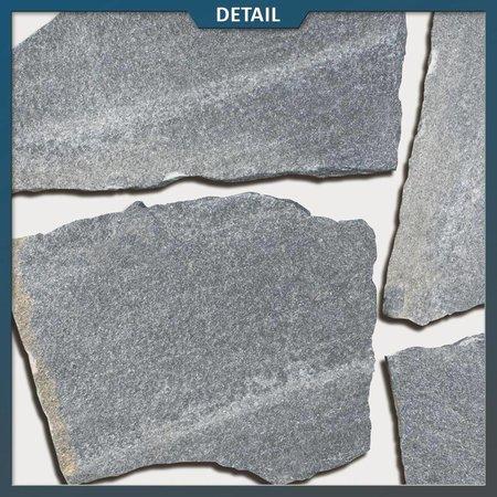 Antraciet Kwartsiet Flagstones (2-3 cm dik)