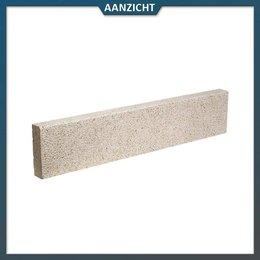 Opsluitband Graniet Geel met facet