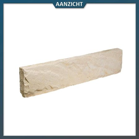 Opsluitband Zandsteen Mint 8x20x100 cm