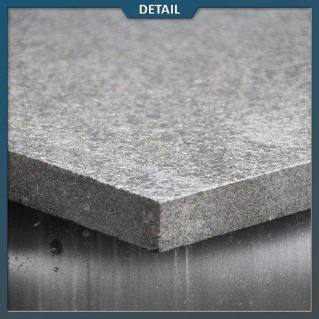 Basalt G684 Tegel Zwart Gevlamd/geborsteld