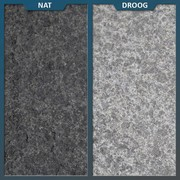 Basalt Tegel Zwart Gevlamd/geborsteld