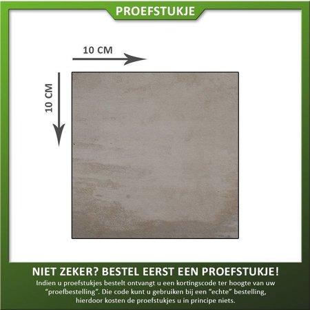 Proefstukje keramiek Delft