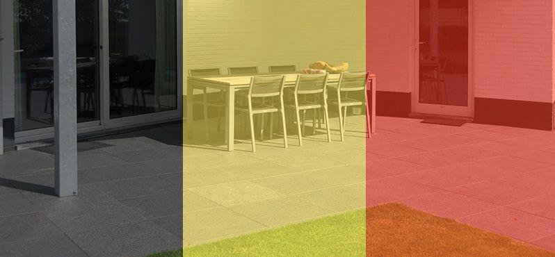Natuursteen terrastegels kopen in België
