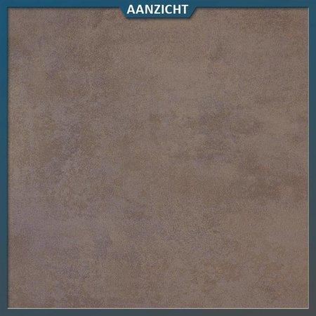 Keramische tegel Bronze 40x80x2 centimeter