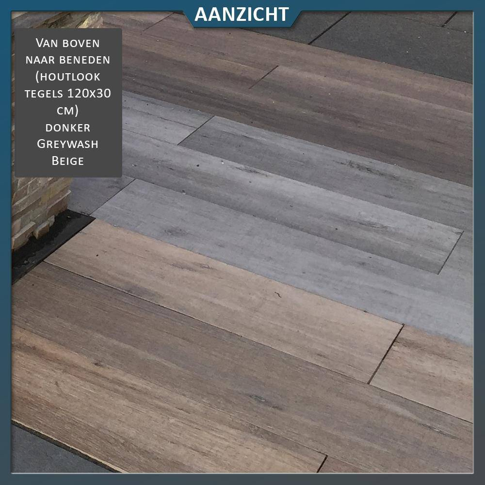 Keramische tegel houtlook Greywash 120x30x2 cm   Natuursteenvoordelig nl
