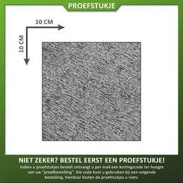 Proefstukje natuursteen basalt gefrijnd