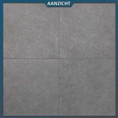 Geoceramica Impasto Grigio 60x60x4 cm Tuintegel