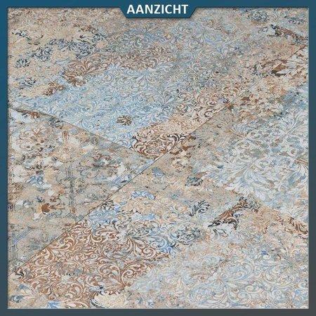 Keramische tegel Vestige Natural Carpet 50x100x2 cm