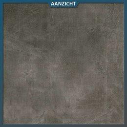 Keramische tegel Betonlook Dark 60x90x2 cm