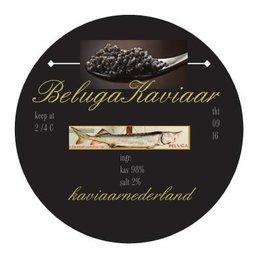 BIOVIS Binnenkort verkrijgbaar aanbieding 100 gram premium Beluga kaviaar in gouden blik!