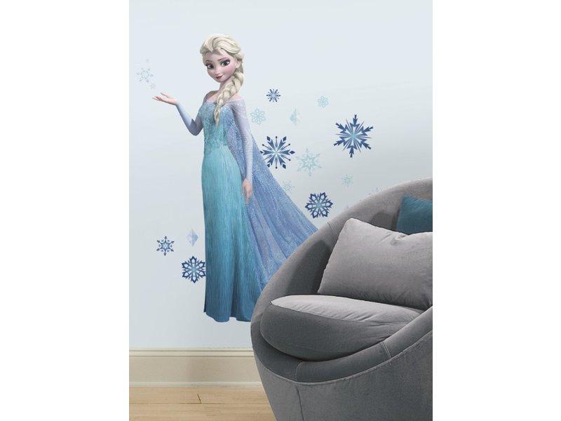 Disney Frozen Slaapkamer : Muursticker elsa frozen muurstickerdirect