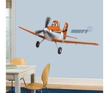 Planes muursticker Dusty