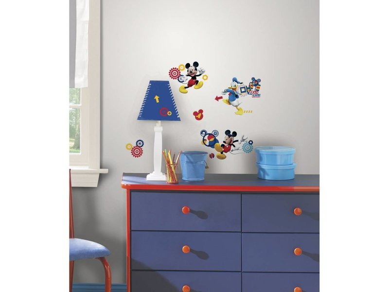Mickey Mouse Muursticker.Mickey Mouse Muursticker Muurstickerdirect Nl