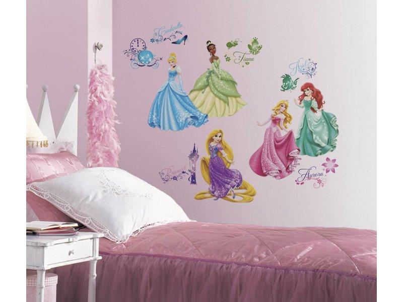 Muurstickers Disney Princess - Muurstickerdirect.nl