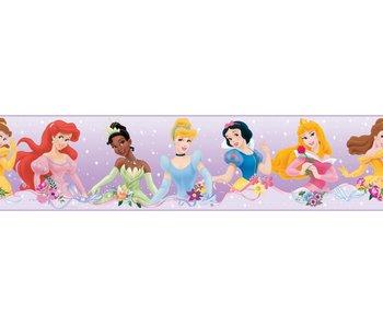 Muursticker met alle Disney prinsessen