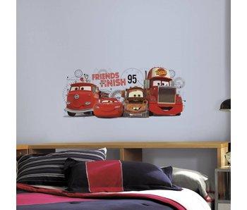 Muursticker Cars McQueen en vrienden