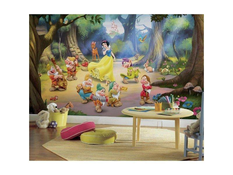 Disney Princess stickerbehang Sneeuwwitje en de zeven dwergen ...