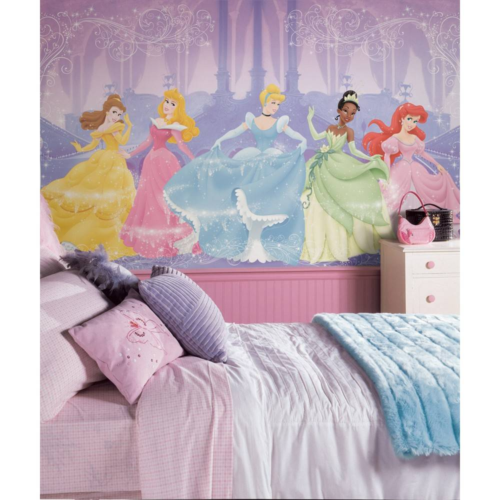 disney muursticker disney princess xxl