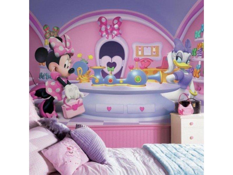 Muursticker Mickey Mouse XXL Stickerbehang - Muurstickerdirect.nl