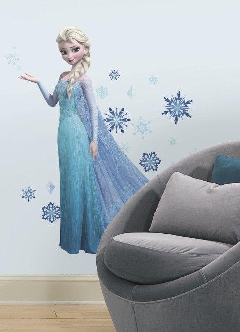 Let it snow! Prachtige Frozen muurstickers!