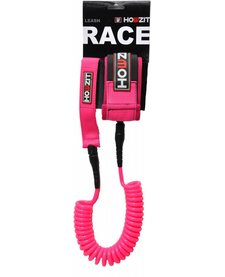 leash coiled pink