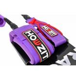 Howzit leash coiled purple