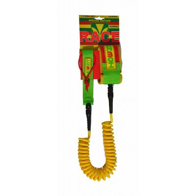 Howzit leash coiled Hawaii