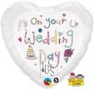 Ballon 'On your wedding day'