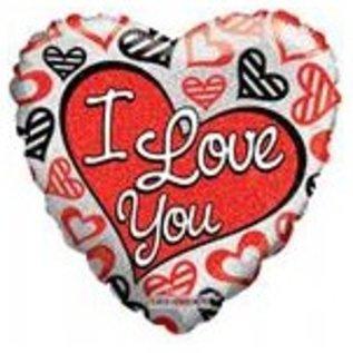 Ballon 'I Love You' 2